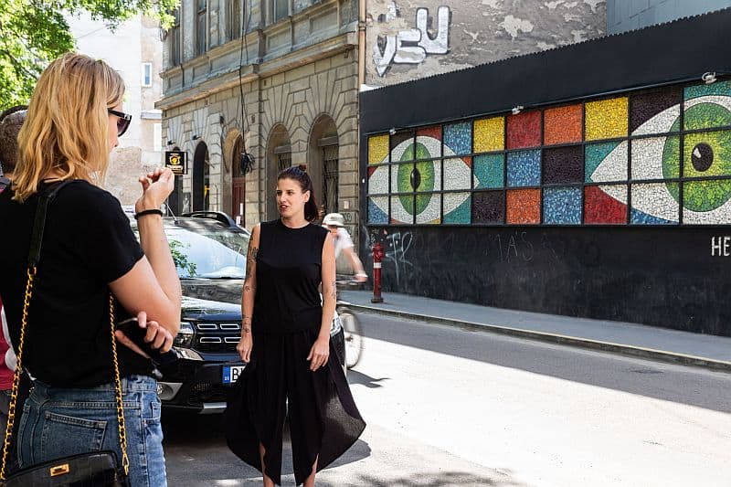 Noemi Nadudvari Szines Varos Street Art Festival